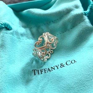 Tiffany & Co. Paloma's Goldoni Heart Band Ring 5
